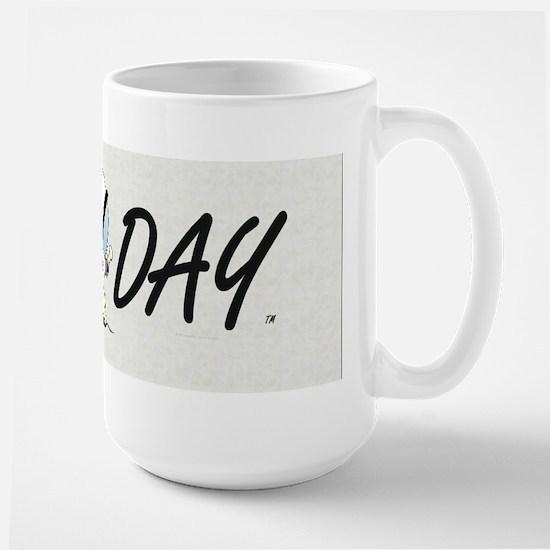 Snow Day Large Mug