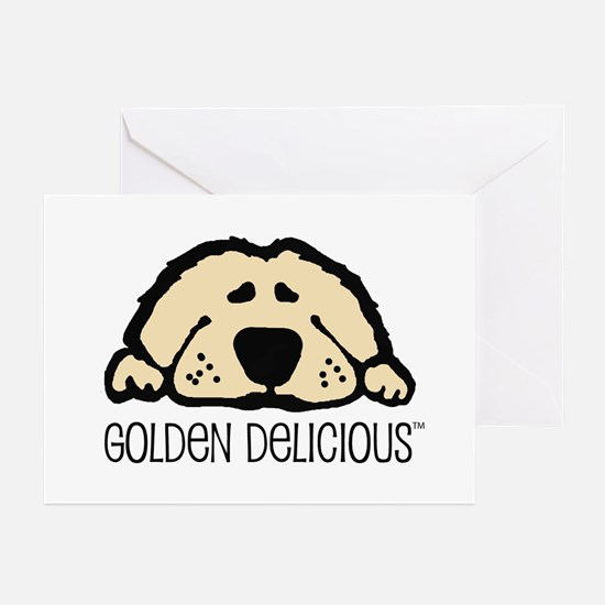 Golden Delicious Greeting Cards (Pk of 10)