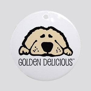 Golden Delicious Ornament (Round)
