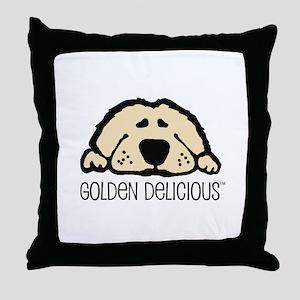 Golden Delicious Throw Pillow