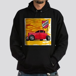 Speed '32 Red Coupe Hoodie (dark)