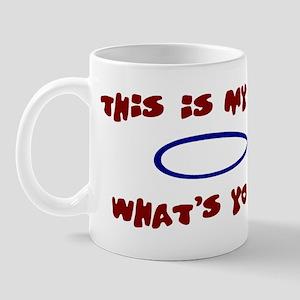 My sign is (fish) Christian Mug