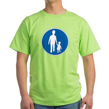 Obligatory Pedestrian Lane, Sweden Light T-Shirt