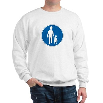 Obligatory Pedestrian Lane, Sweden Sweatshirt