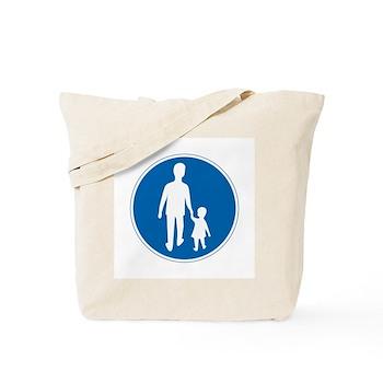 Obligatory Pedestrian Lane, Sweden Tote Bag