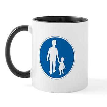 Obligatory Pedestrian Lane, Sweden Mug