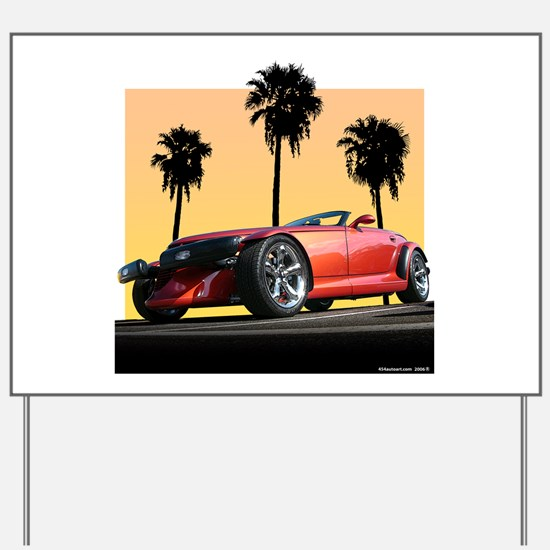 Plymouth Prowler Yard Sign