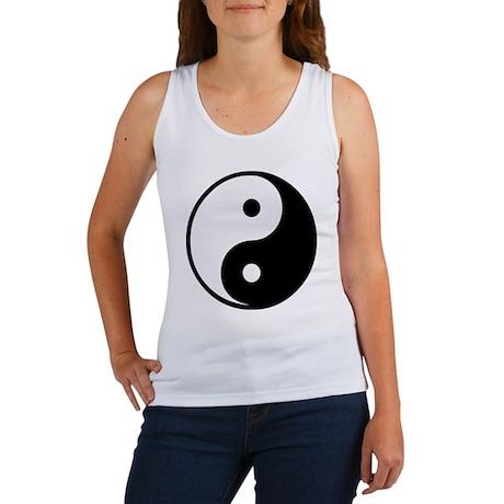 Yin Yang Symbol Women's Tank Top