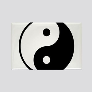 Yin Yang Symbol Rectangle Magnet