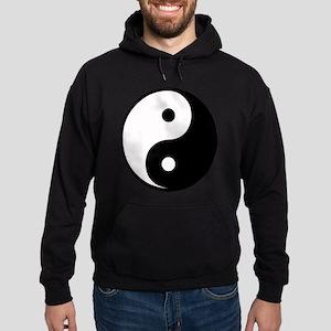 Yin Yang Symbol Hoodie (dark)