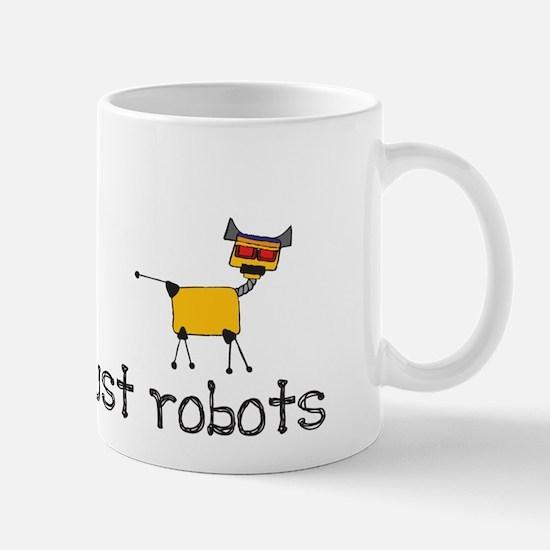 Never Trust Robots Mug