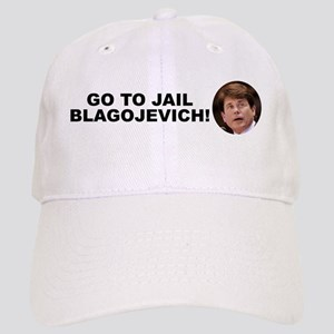 Go To Jail Blagojevich Cap
