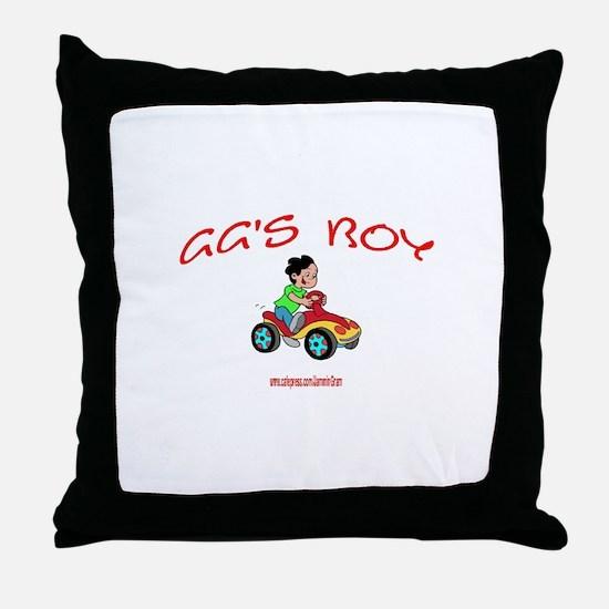 GG'S BOY Throw Pillow