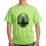 Christmas Peace Green T-Shirt