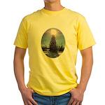 Christmas Peace Yellow T-Shirt