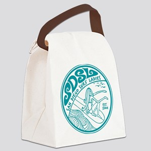 San Diego Surf Ladies Canvas Lunch Bag