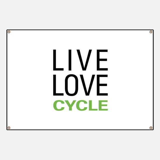 Live Love Cycle Banner