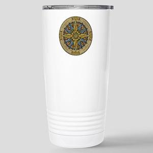 Celtic Compass Stainless Steel Travel Mug
