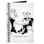 Restaurant Cartoon 4334 Journal