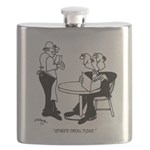 Restaurant Cartoon 4334 Flask