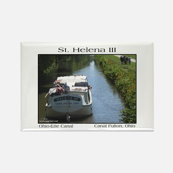 St. Helena III Rectangle Magnet