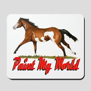 Paint My World 3 Mousepad