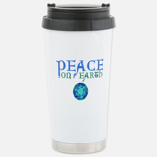 Celtic Peace on Earth Stainless Steel Travel Mug