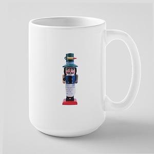 Doktor Nutcracker Holiday Large Mug