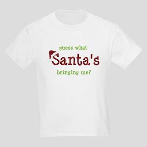 brother or sister christmas shirt Kids Light T-Shi