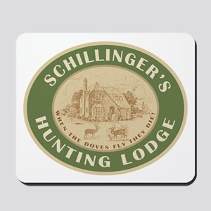 Schillinger's Hunting Lodge Personalized Mousepad