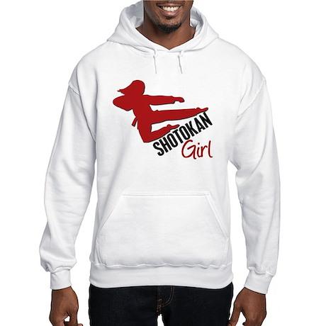Shotokan Girl Hooded Sweatshirt