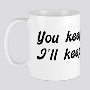 Atheist Statement 11 oz Ceramic Mug