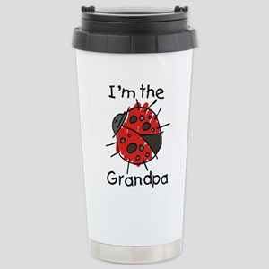 I'm the Grandpa Ladybug Stainless Steel Travel Mug