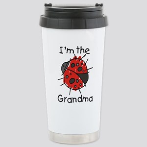 I'm the Grandma Ladybug Stainless Steel Travel Mug