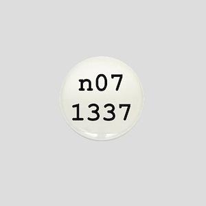 n07 1337 Mini Button
