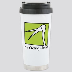 Gotcha Day Stork Stainless Steel Travel Mug