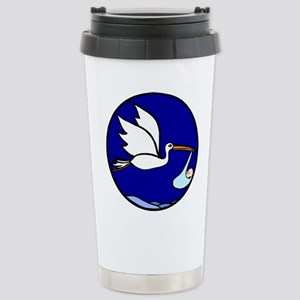 Special Delivery Stork Stainless Steel Travel Mug