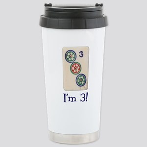 I'm 3! Stainless Steel Travel Mug
