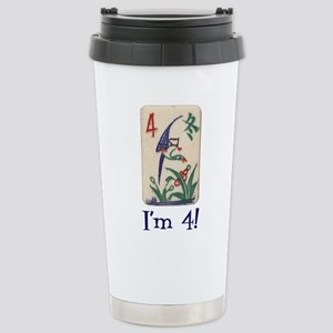 "Mah Jong I""m 4 Stainless Steel Travel Mug"