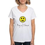 Day of Silence Women's V-Neck T-Shirt