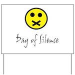 Day of Silence Yard Sign
