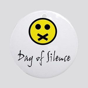 Day of Silence Ornament (Round)