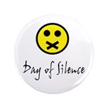 """Day of Silence 3.5"""" Button (100 pack)"""
