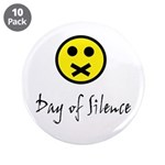 """Day of Silence 3.5"""" Button (10 pack)"""