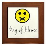 Day of Silence Framed Tile