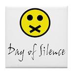 Day of Silence Tile Coaster
