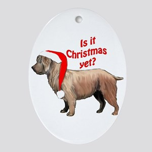 Glen of Imaal Christmas Oval Ornament