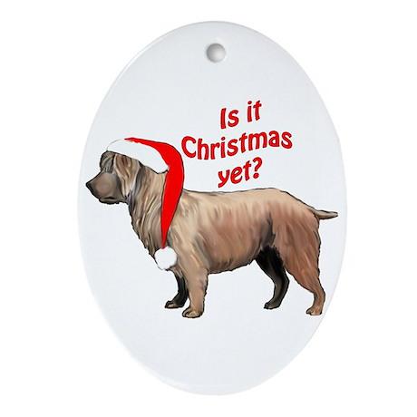 Glen of Imaal Christmas Oval Ornament