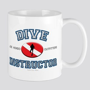 Blue Dive Instructor Mug