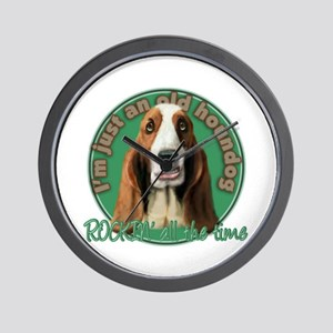 Nothin' but a Houndog Wall Clock